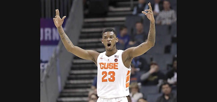 Syracuse suspends Frank Howard on eve of NCAA Tournament