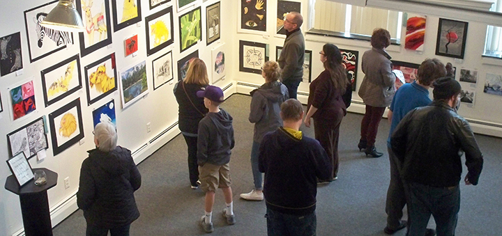 Chenango Arts Council hosts student art show and awards ceremony