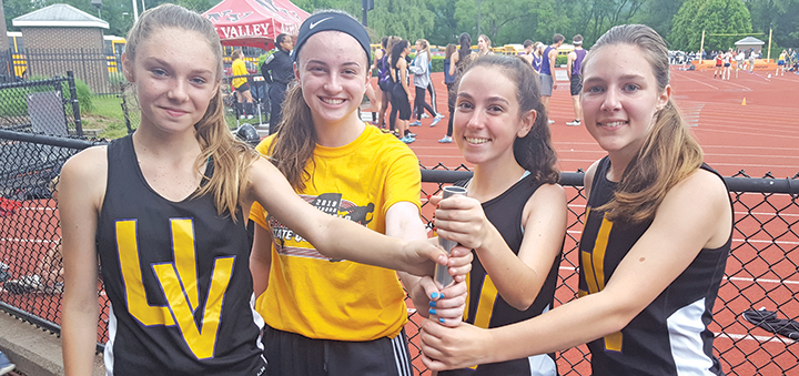Storm's 4x800 Girls' Relay Team Sets New Record In Back-to-back Meets