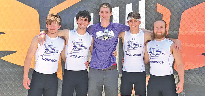 Norwich sprint medley relay teams place third in heats at New Balance Nationals