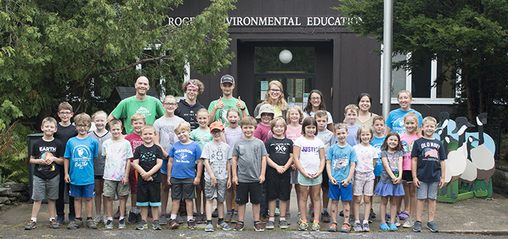 Roger's Environmental Education Center Hosts Annual Summer Camp