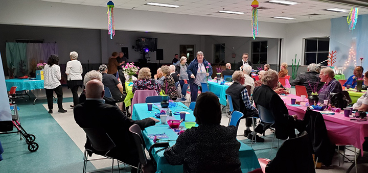Area Agency On Aging Hosts Prom For Seniors At YMCA