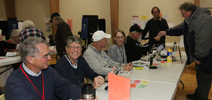 Chenango voters have their say