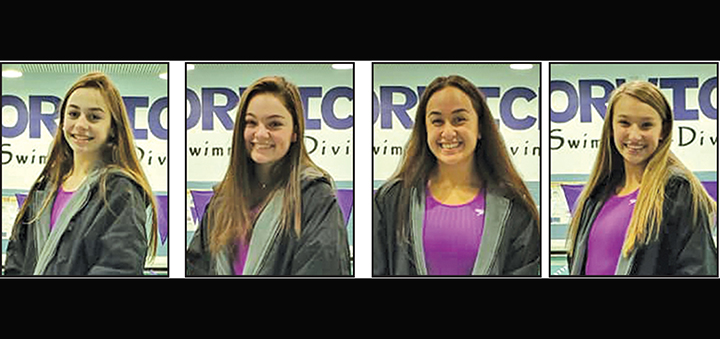 Four Norwich swimmers named to STAC divisional All-Star team