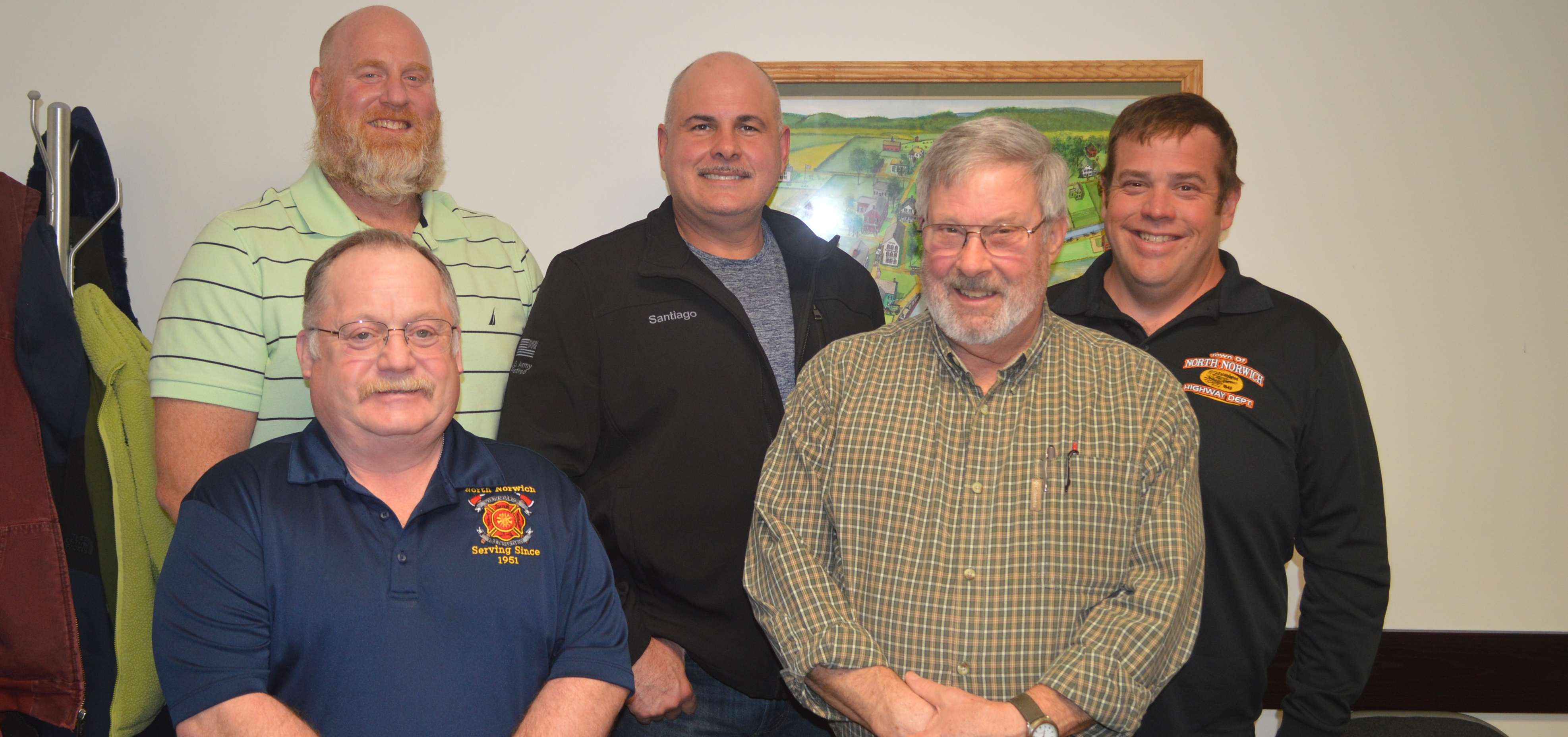 North Norwich introduces new town officials
