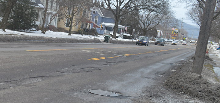 Resident requests Common Council take action to repair city street