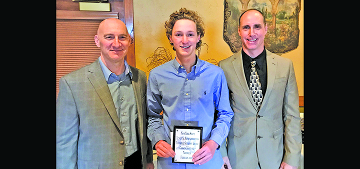 Maynard honored with Chapter IV Essay Award Scholarship