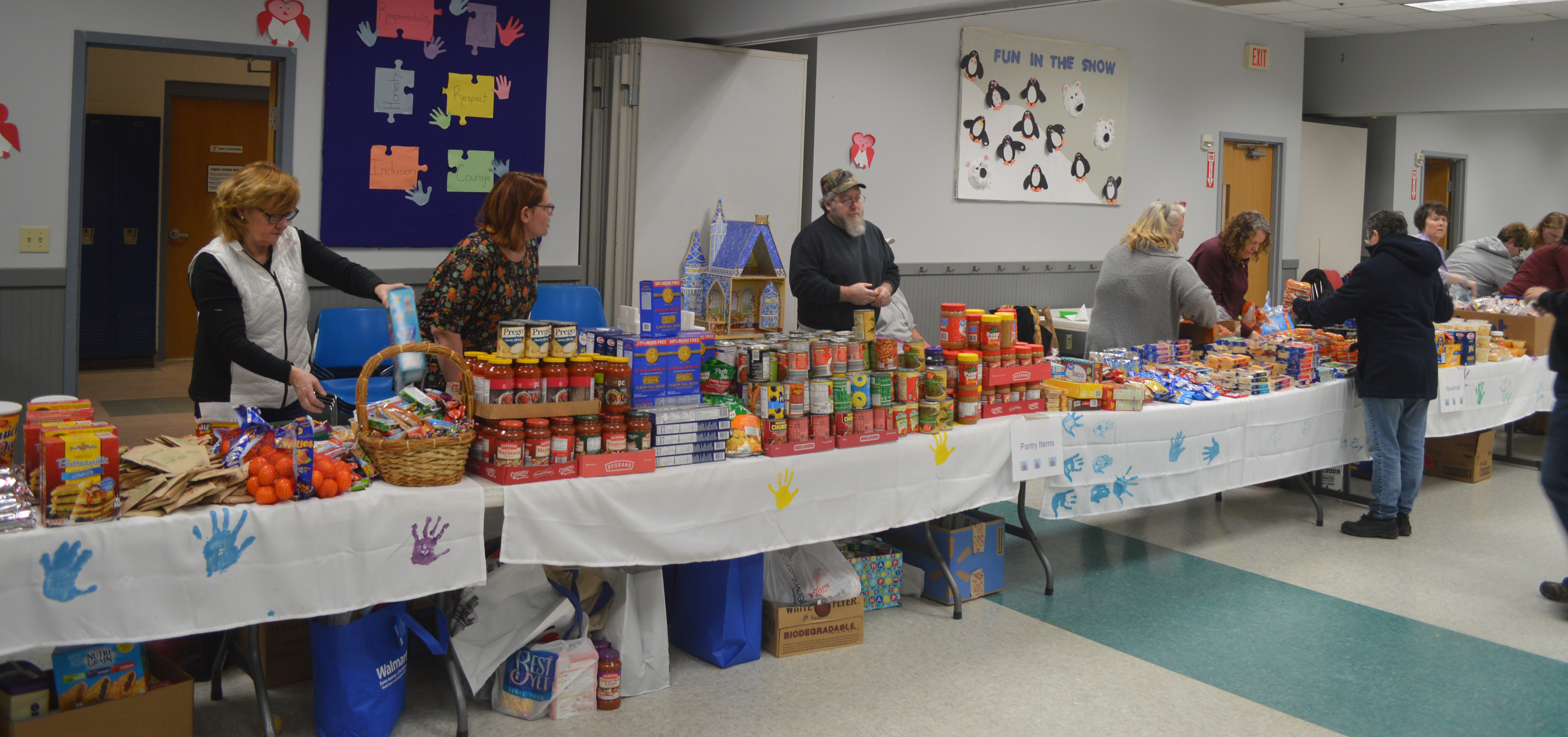Community donation night has another powerful success