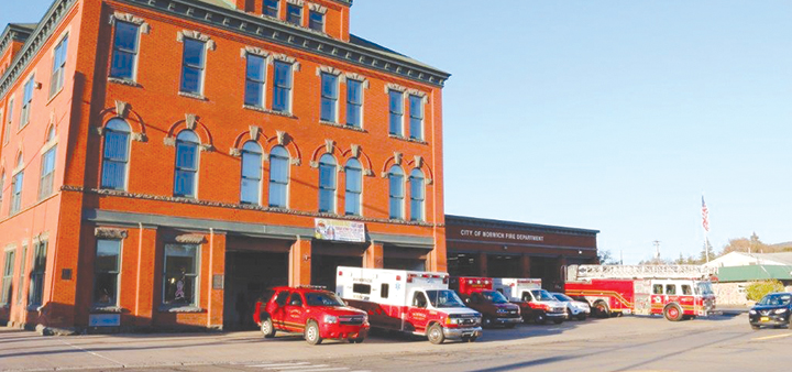 Norwich Fire Department And First Responders Prepare For The Coronavirus