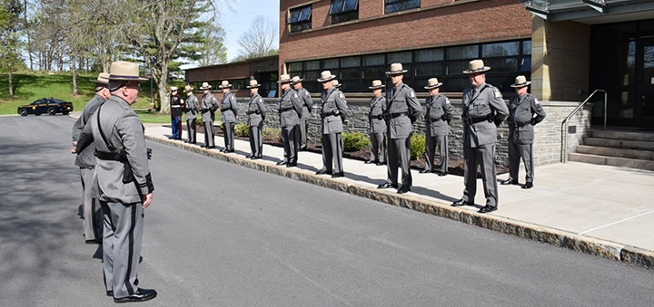 Troop C Hosts Annual Memorial Ceremony