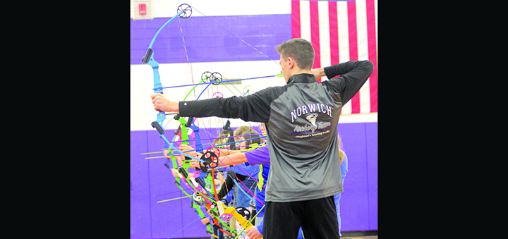 Norwich Middle School Archery Team wins state tournament, qualifies for national competition