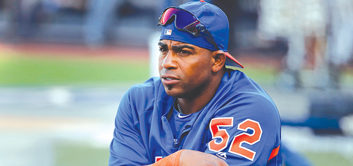 Mets optimistic about Céspedes when baseball returns