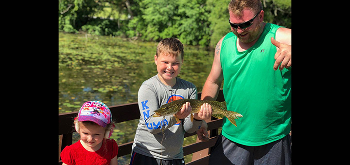 Rogers Environmental Education Center  hosting Family Fishing Day August 1