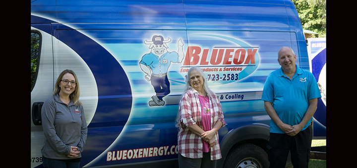 Blueox partners with nonprofit to help homeowner in Oxford area