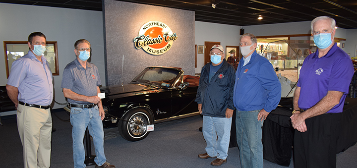 Northeast Classic Car Museum picks winner of 1968 Black Mustang Convertible