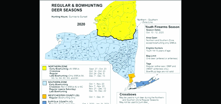 DEC expects busy hunting season as record number of licensees sold in NY