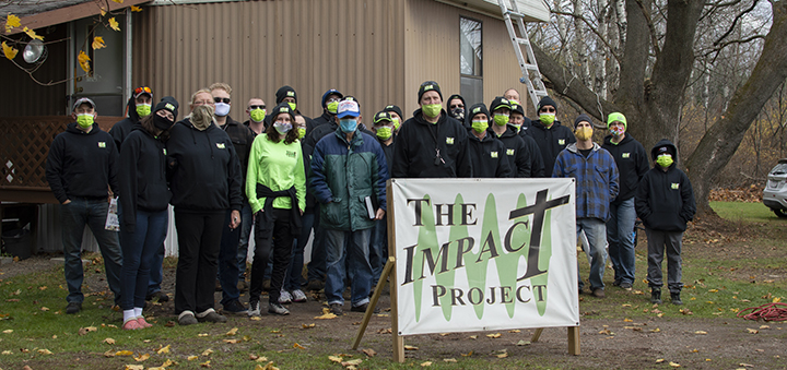 Impact Project helps veteran in Afton