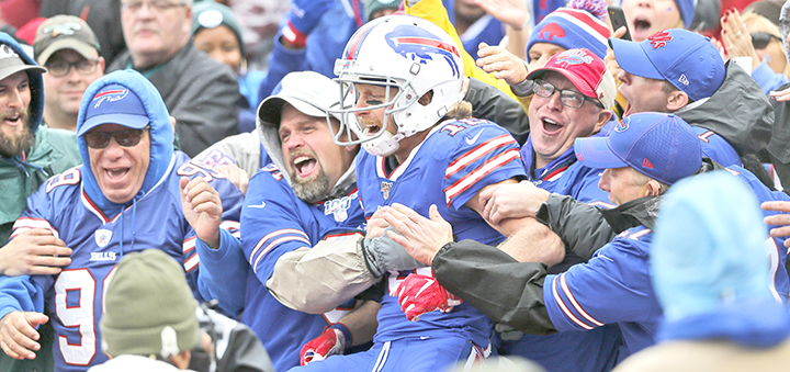 New York makes exception to allow fans at Bills playoff game