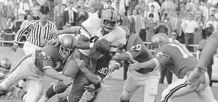 Floyd Little, Syracuse and Broncos great, dies at 78
