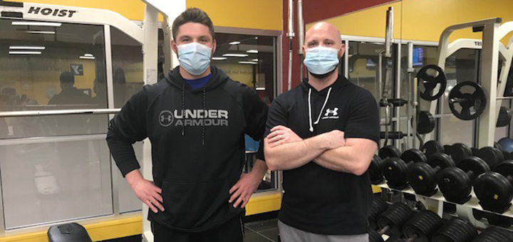 Two local entrepreneurs seek funds for new app to promote better health