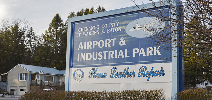 What do you know about Chenango County's airport?