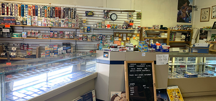 Norwich Sports Card Shop Sees New Ownership