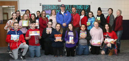 Salvation Army and Norwich Middle School team up