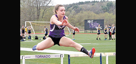 Norwich pounds the track for another home meet win over Oneonta