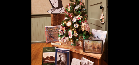 "Historical Society's ""Holiday Open House"" features guest author Jeff Finegan"