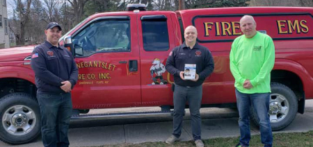 Local nonprofit donates N95 masks to fire department in need