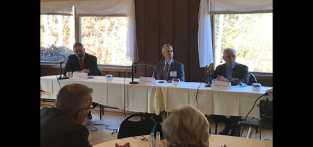 Legislators discuss issues facing New York and Chenango County