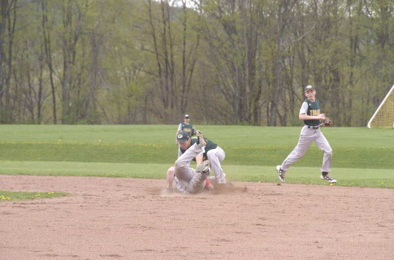 Greene Baseball home vs Afton