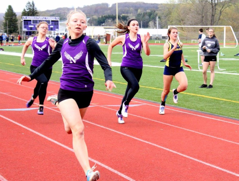 Norwich Track and Field vs Oneonta and Chenango Forks