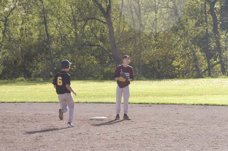 Otselic Valley Baseball home vs Stockbridge Valley