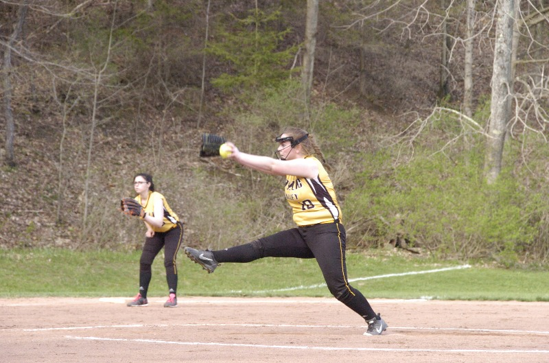 Otselic Valley Softball home vs DeRuyter