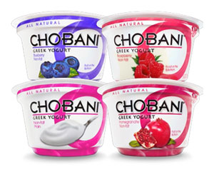 Chobani Yogurt Graphic